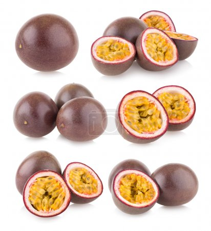 Set of 6 passion fruit