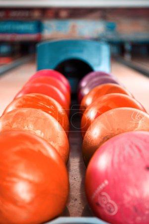 red bowling balls