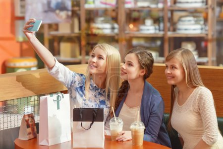 Social media in women shopping