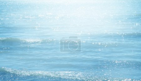 Blue sea background