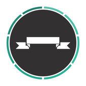 ribbon computer symbol