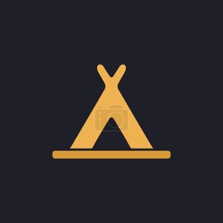 Wigwam computer symbol