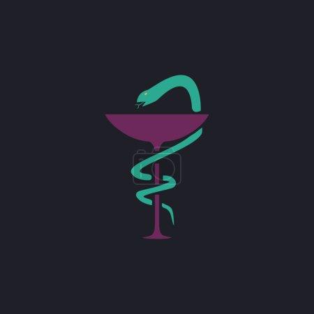 Pharmacy computer symbol