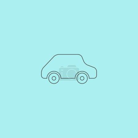 toy Car logo template. Vector icon.