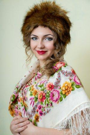 Photo pour Portrait de la mariée. maquillage de mariage - image libre de droit
