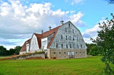 Massive huge old barn