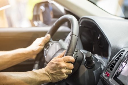 Man driving Man driving