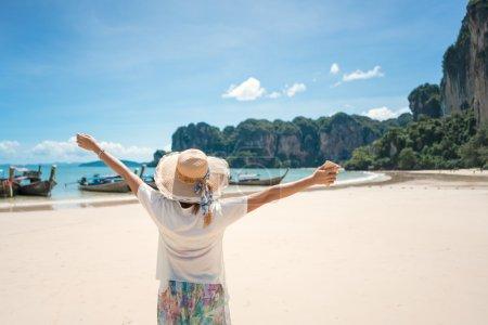 travel Ocean Beach Krabi Thailand