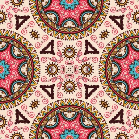 Vintage decorative seamless pattern