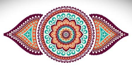 Ethnic decorative elements
