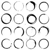 Circle Elements set 01 vector for use