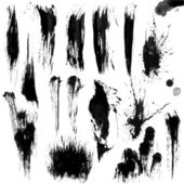 Brush Strokes with the Greyscale volume set 02