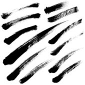 Brush Strokes vector set 05