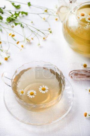 Camomile hebal tea