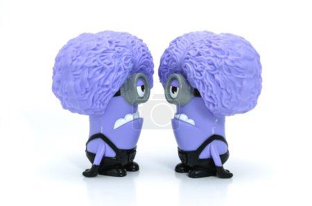 Talk Purple Minion babbler