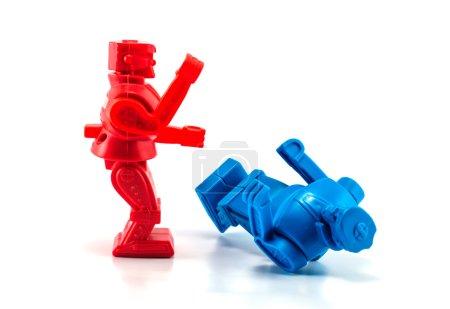 robot toy knockout