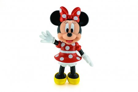 Toddler Minnie mouse action figure from Disney character.