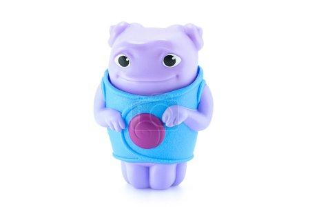 OH alien purple color toy