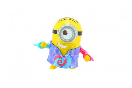 Groovy minions with bananas toy