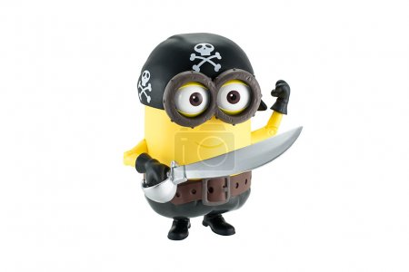 Pirate minion with sword and