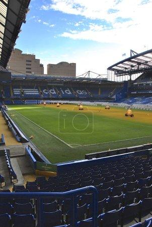 Football stadium of FC Chelsea