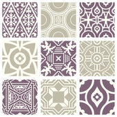 Classic vintage elegant pastel violet seamless abstract pattern 03
