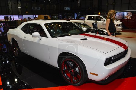 Dodge Challenger at the Geneva
