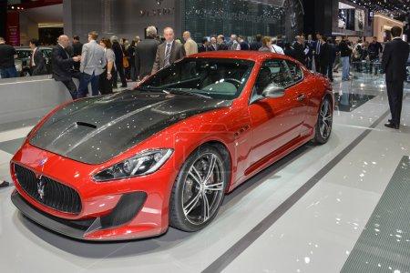 Maserati GranTurismo MC Stradale at
