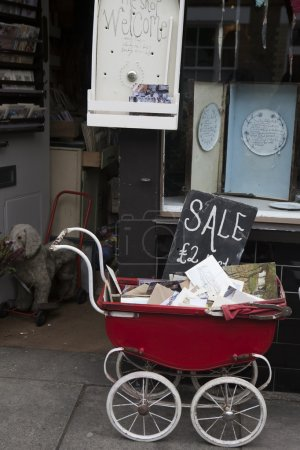 Flea market in London