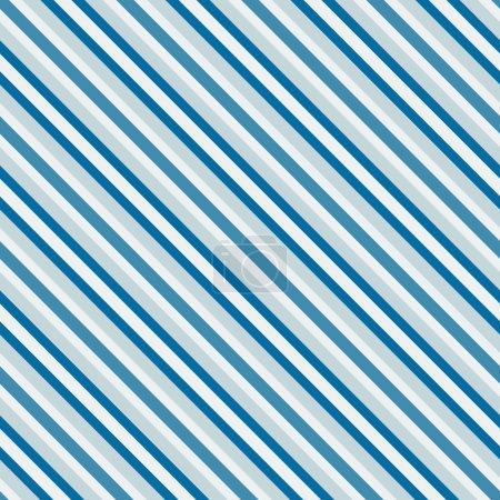 Blue sea diagonal stripes seamless pattern