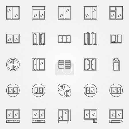 Window icons