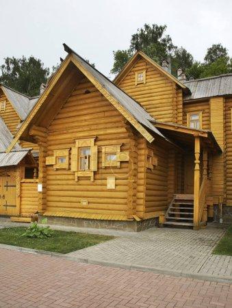 Photo pour Ville des Maîtres à Gorodets. Oblast de Nijni Novgorod. Russie - image libre de droit