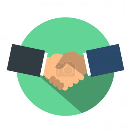 Handshake icon design