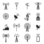 Antenna icon set