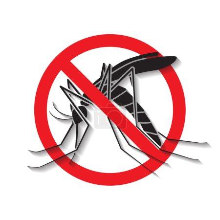 Anti mosquito vector,sign