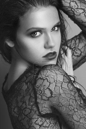 Fashion Model Girl face