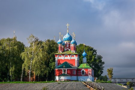 View of the Church of Tsarevich Dimitry on Blood f...
