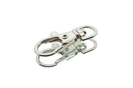 Small Lying Chrome Carabiner Hook