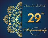 29 year anniversary