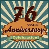 76 years anniversary