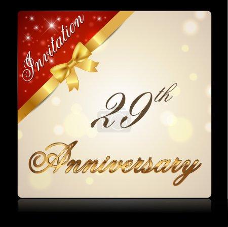 29 year anniversary celebration