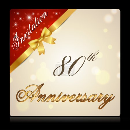 80 year anniversary celebration