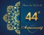 44 year anniversary
