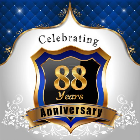 Celebrating 88 years anniversary