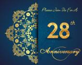 28 year anniversary celebration pattern
