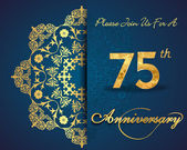 75 year anniversary celebration pattern