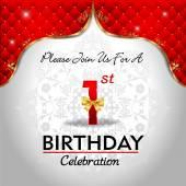Celebrating 1 years birthday