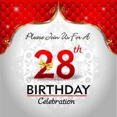 Celebrating 28 years birthday