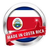 Made in costa rica silver badge