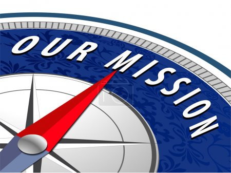 Our mission concept with compass